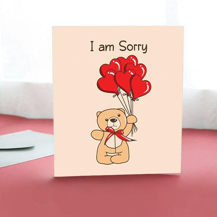 Sorry heart balloons