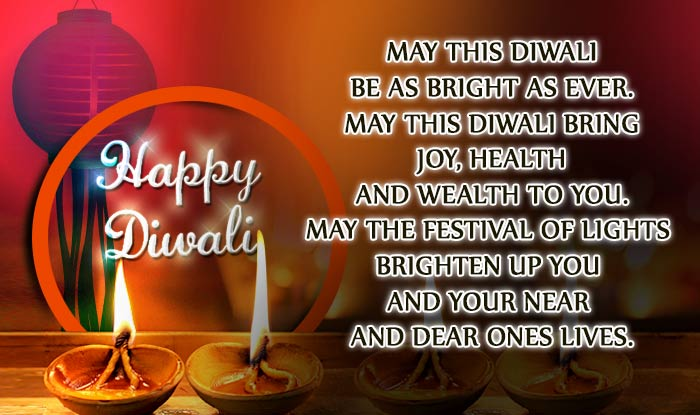 Happy Diwali o your near and dear ones