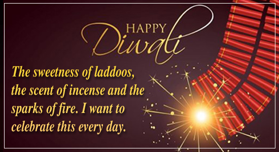 Celebrate Diwali with spark