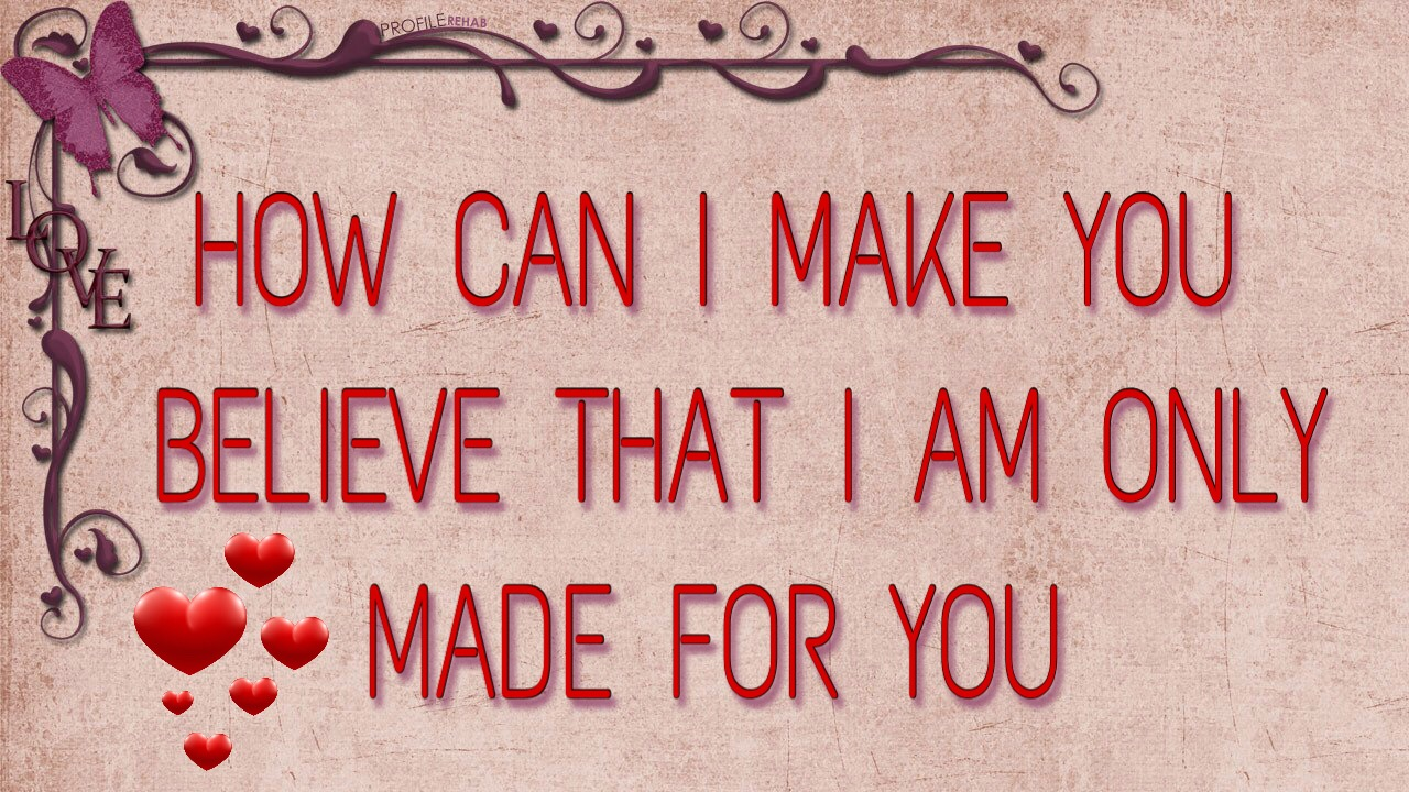 Made for you love