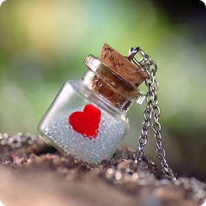 Cute love bottle