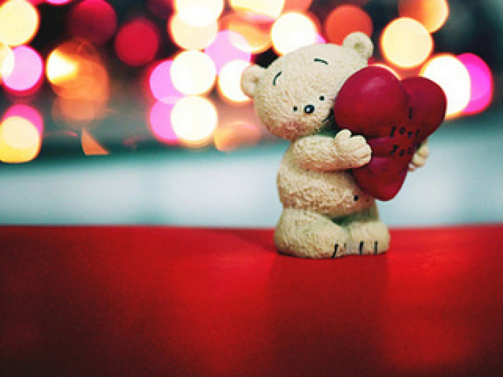 Cute love teddy bear
