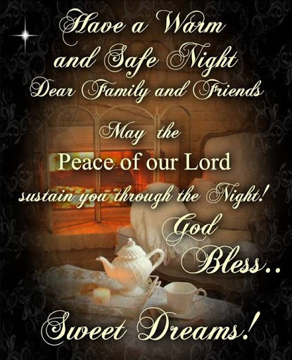 Warm, safe and peaceful night