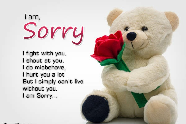 Sorry heart touching images