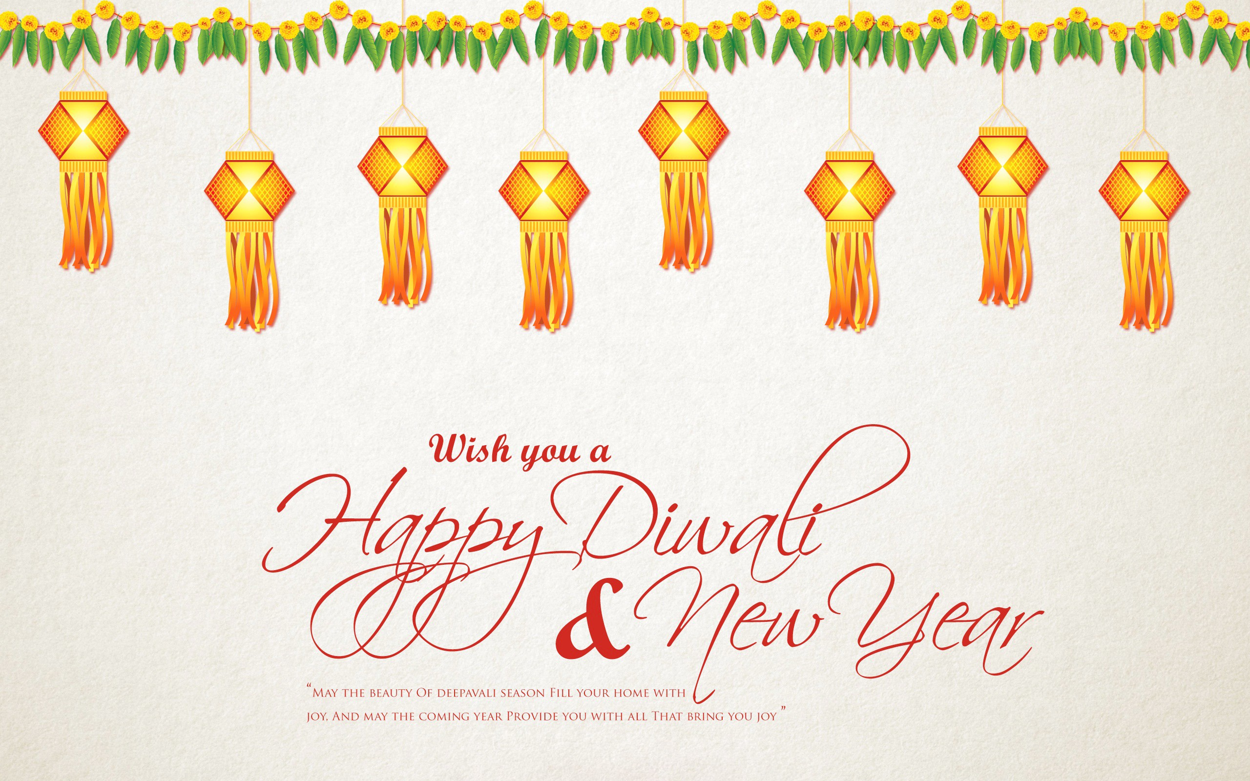 wish you happy diwali new year greeting
