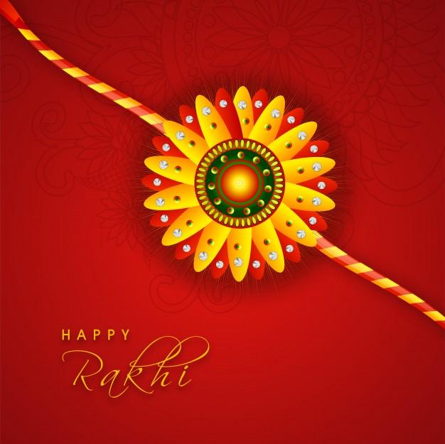Bright Rakhi