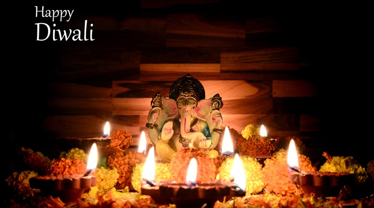 Happy Diwali Wishes with Ganeshji