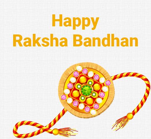 Simple and powerful rakhi