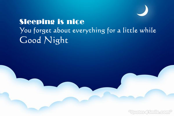 Sleeping Is Nice Good Night Wallpaper And Images Collection
