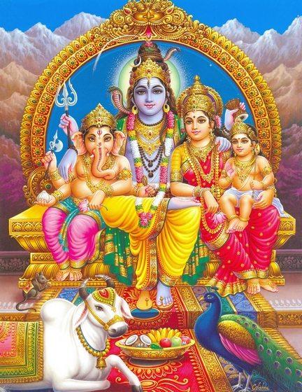 Lord Shiva Family!