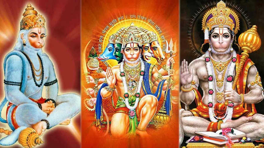 3 Avtaar of Hanuman