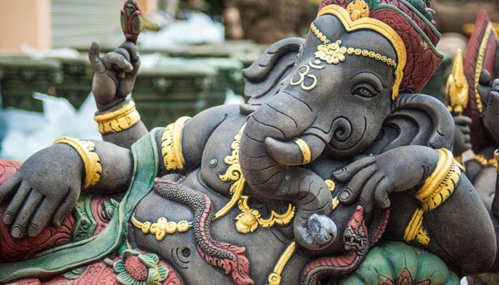 Rare Pic of Ganesha