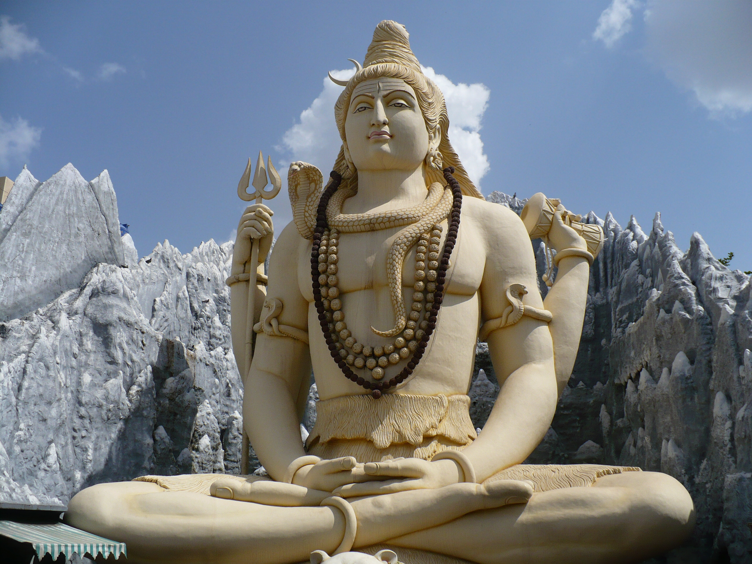 Shiva at Kailash Parvat