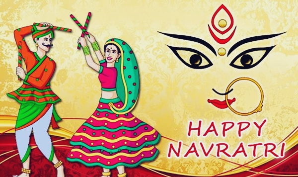 Happy navratri greetings wishes messages with images photos happy navratri greetings wishes messages with images photos m4hsunfo
