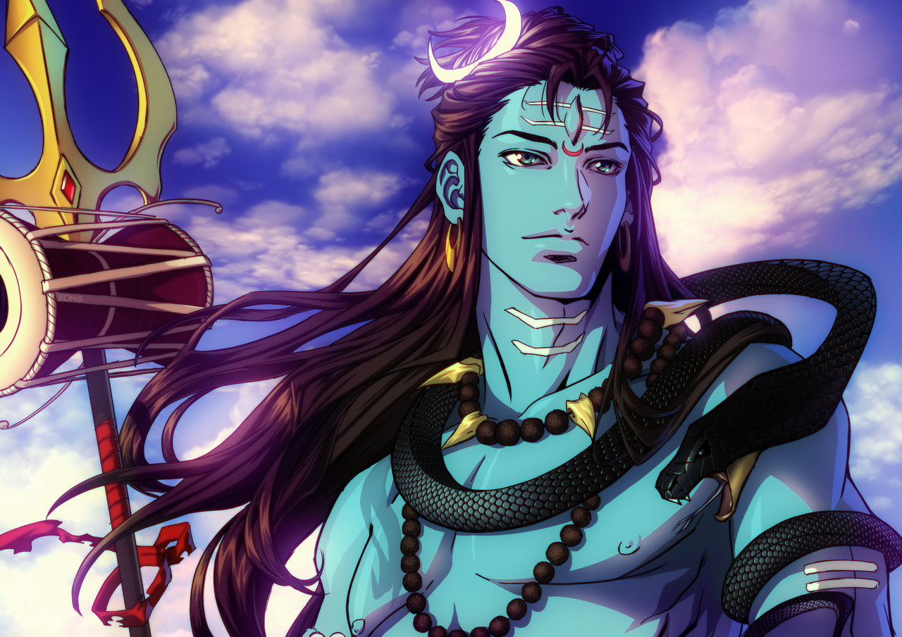 Animated Shiva Image
