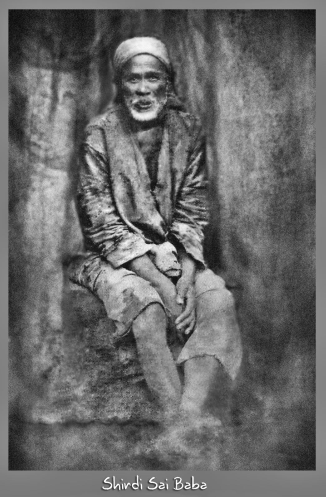 Shirdi Sai Baba Original Image