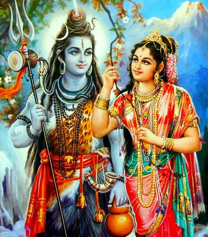 Lord Shiva and Parvati dancing in colorful Holi wallpaper ... |Shiva Parvati Love Wallpaper