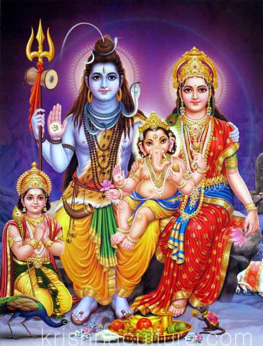 Shiva Image with family!