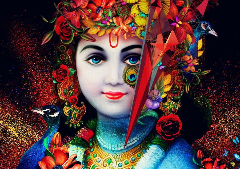 Attractive Krishna Photo!