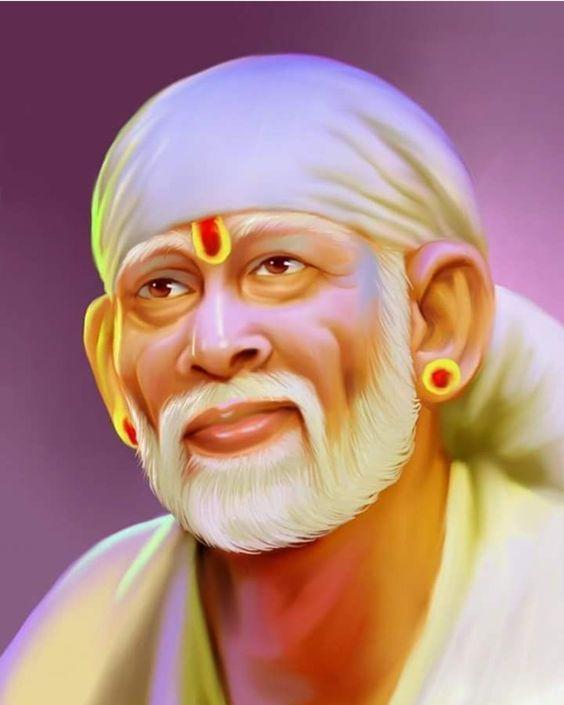 Best Sai Baba Image!