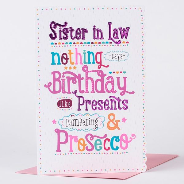 Happy birthday sister in law images!