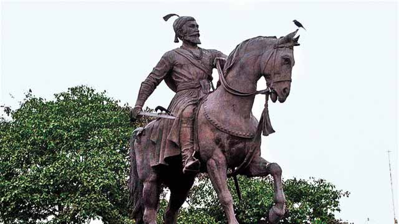 Shivaji riding horse image