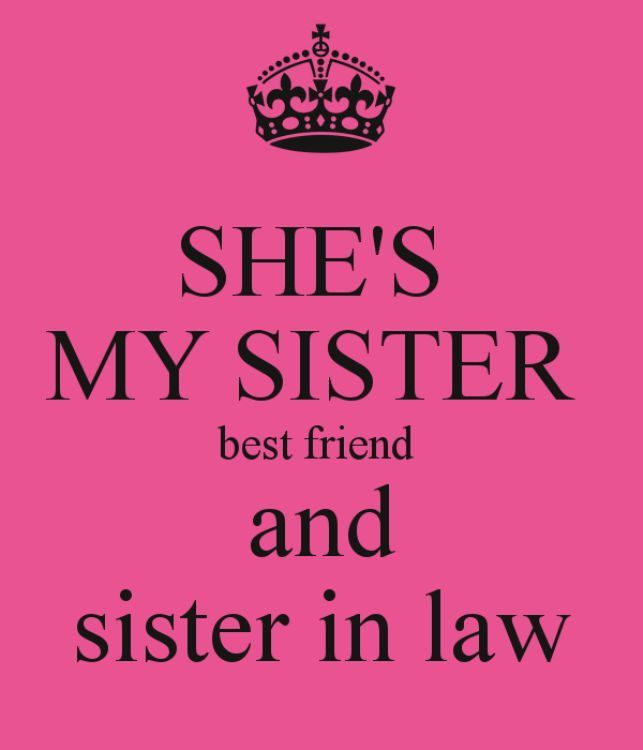 Best Sister in law images