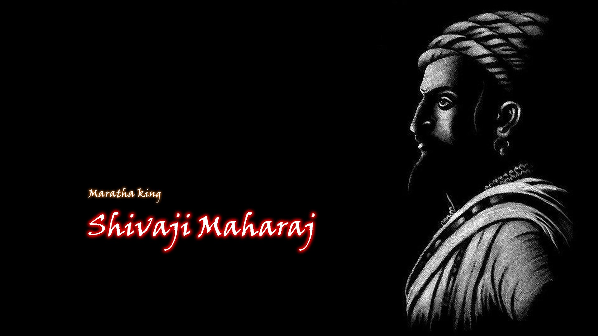 Maratha king Shivaji Maharaj Wallpaper