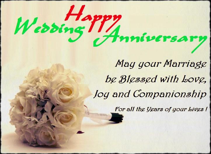 Best wishes on Anniversary