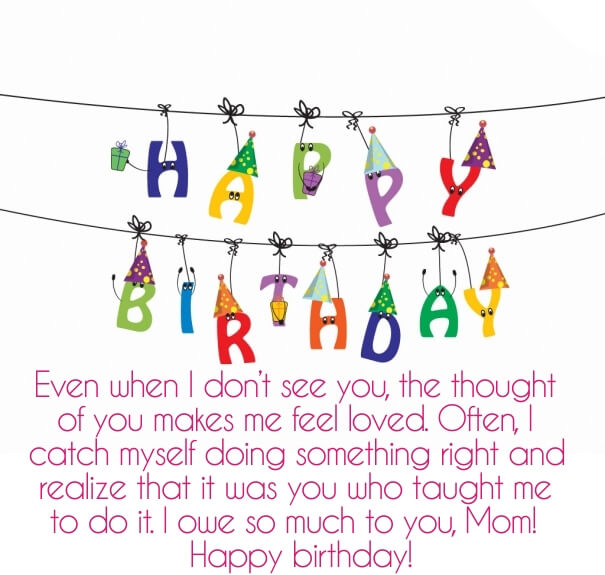 We Are Also Sharing Few Special Images To Convey Birthday Wishes For Mom From Daughter Happy Bday