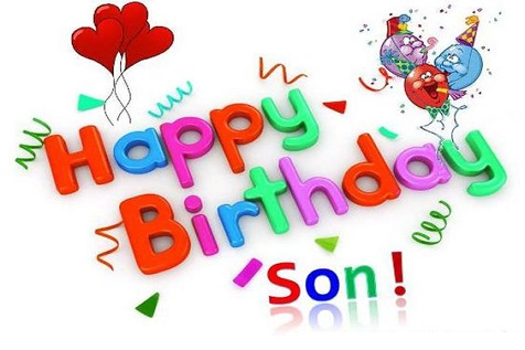 Cute Happy Birthday Wishes For Son From Father And Mother 1
