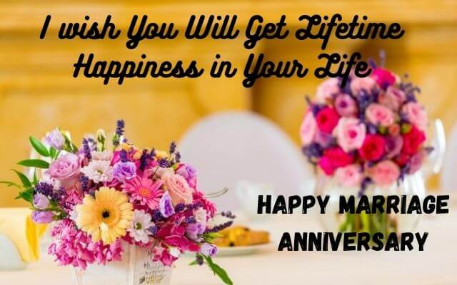 Happy anniversary image for life