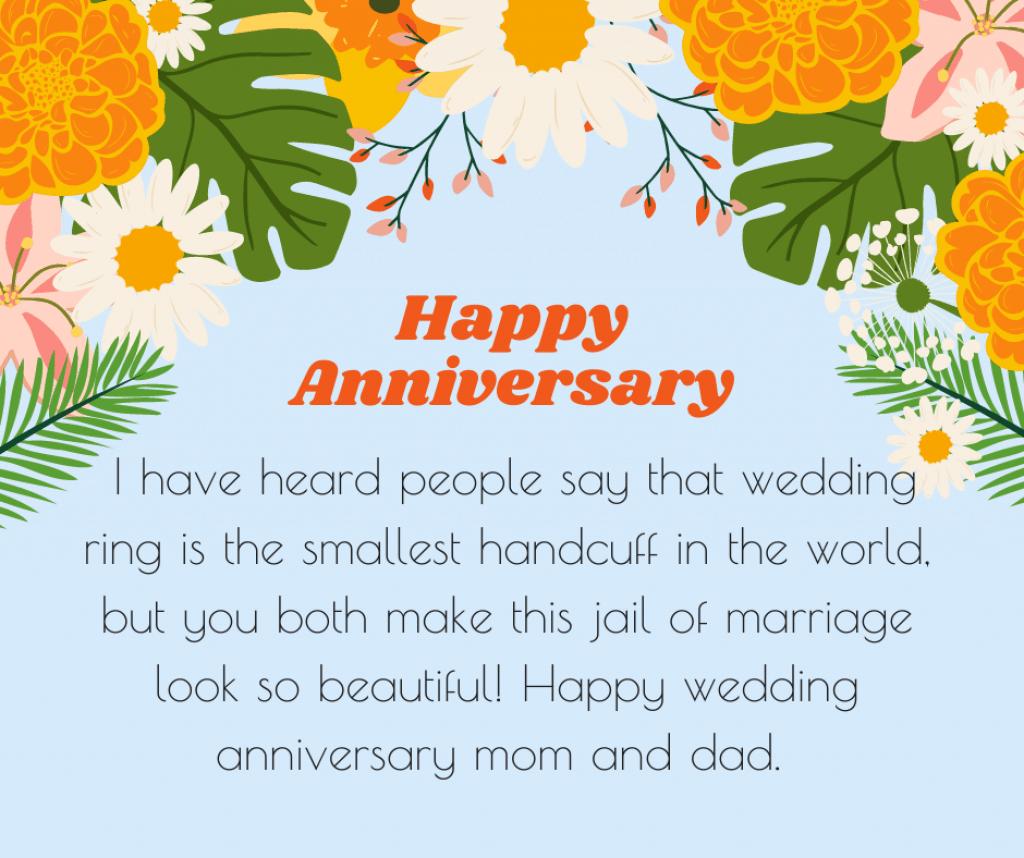 Beautiful heart-touching anniversary wish