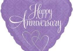 Purple heart anniversary