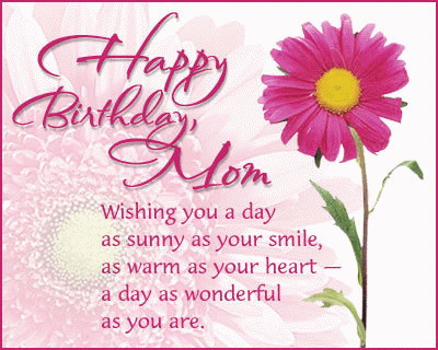 Wishes For Mom From Daughter Happy Birthday Bday Son Mother Quotes