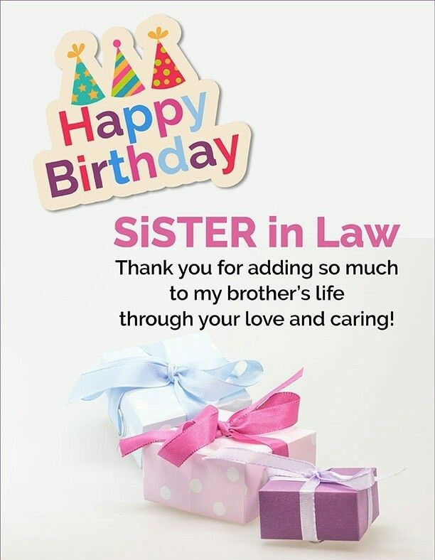 50+ Best Happy Birthday Sister In Law Images And Quotes