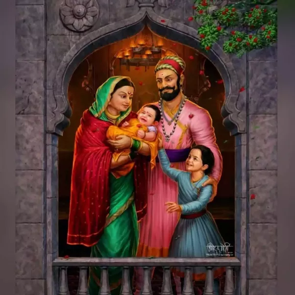 Shivaji Family photo