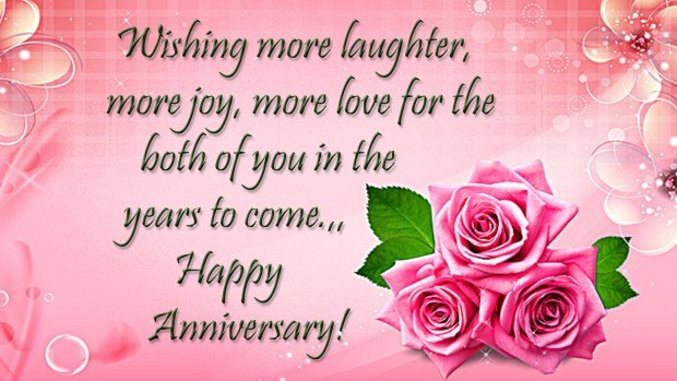 Happy anniversary full of laughter image