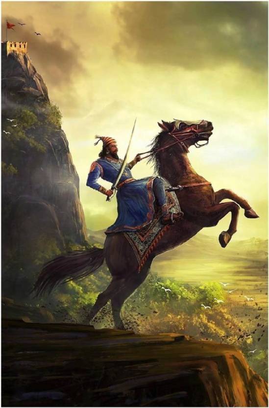 Most powerful shivaji maharaj image