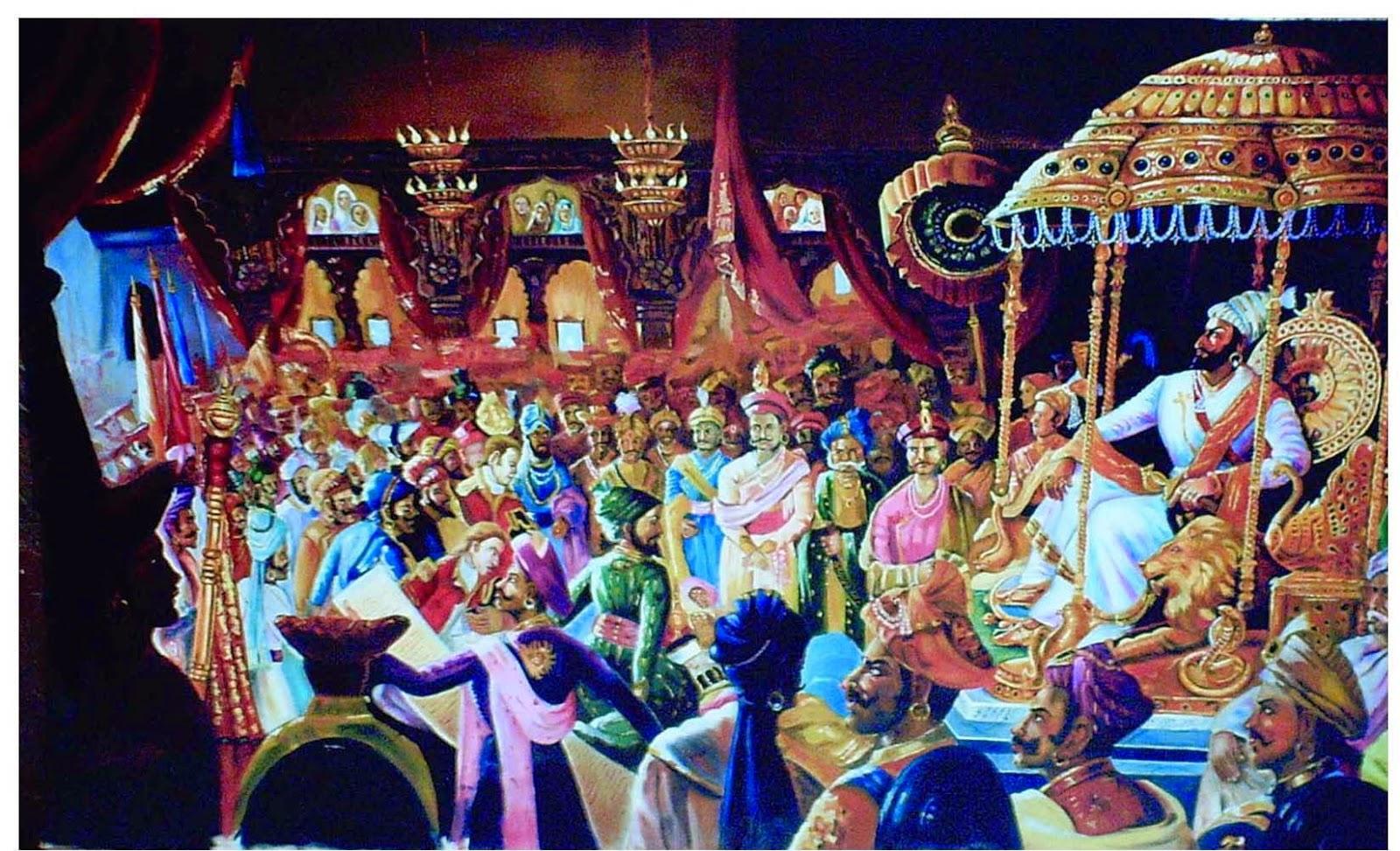 Shivaji Maharaj public meet image