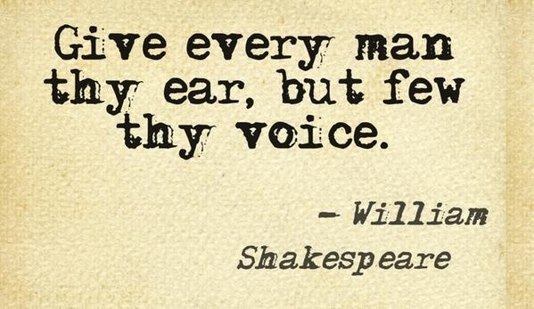 The Best And Beautiful Shakespeare Quotes Collection