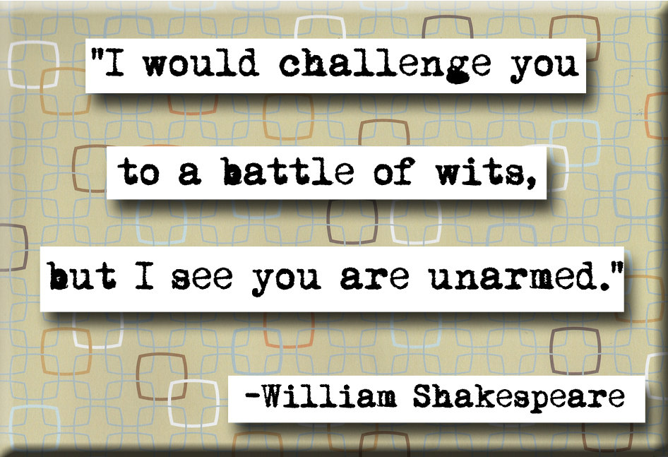 Best shakespeare quotes!