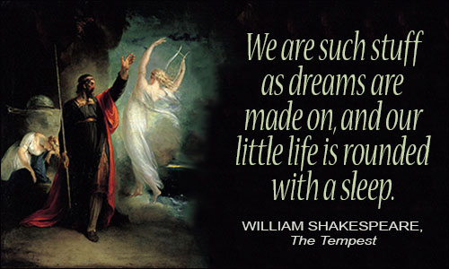 Best shakespeare quote about life!